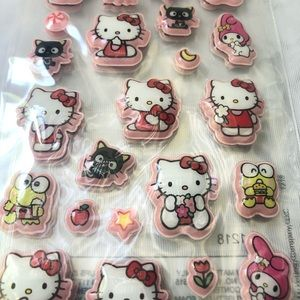 Sanrio characters puffy stickers
